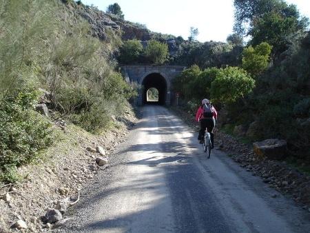 Túnel en la Vía Verde de la Sierra de Cádiz