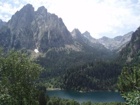 Paisajes en la Ruta de los Pirineos